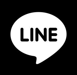 LINEアイコン黒